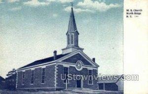 M.E. Church in North Ridge, New York