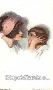 Series No. 303 All Mine Artist Signed Harrison Fisher 1913 light corner wear,...