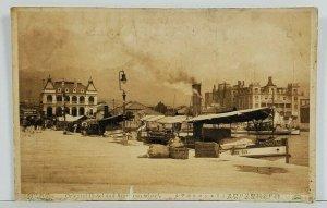 Japan Oriental Hotel and American Wharf Postcard O8