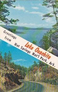 Greetings Lake Ouachita From Hot Springs National Park Arkansas