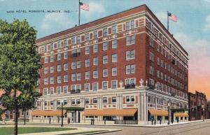 MUNCIE , Indiana, 30-40s; New Hotel Roberts