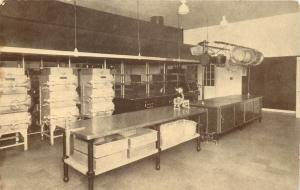 Baltimore~Stainless Steel Cabinet @ St. Mary's Seminary Kitchen 1910 Postcard