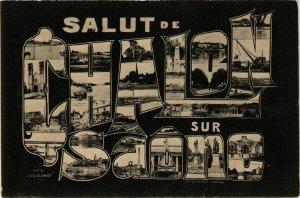 CPA Salut de Chalon sur Saone FRANCE (952701)
