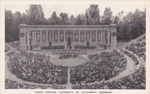 Greek Theatre University Of California Berkeley California Albertype