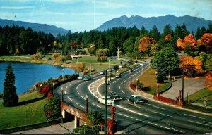 Canada Vancouver Causeway Entrance To Stanley Park