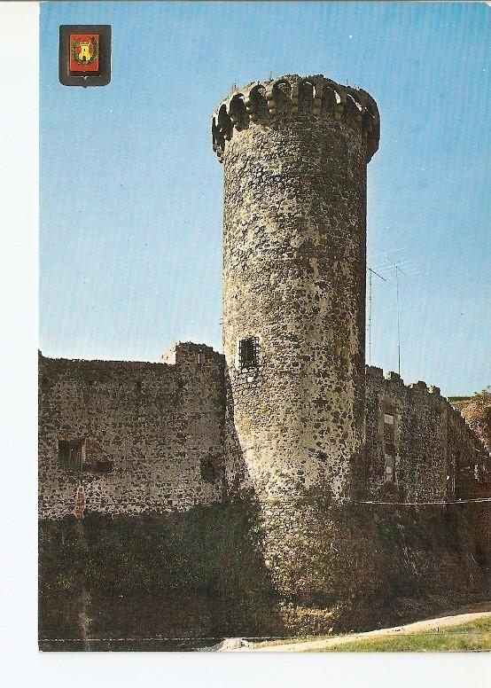 Postal 021828 : Torre y Murallas - Gerona