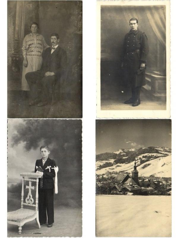 REAL PHOTO PERSONS & TOPOGRAPHIE 350 CPA Pre-1940