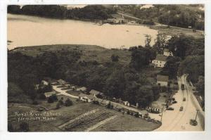 3015 Aerial View Royal River Cabins Motel Yarmouth ME