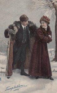 Couple Temptation , 1909 ; TUCK