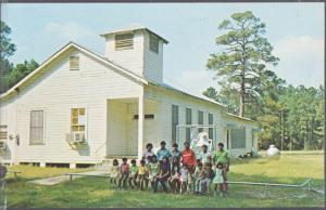 Houma LA - Koasati Indians at ST PETERS CONGREGATIONAL CHURCH OF BAYOU BLUE 50s