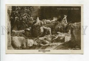 427510 DRAGON & RICHTER Famous MOVIE Film NIBELUNGEN old PHOTO