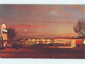 Pre-1980 OLD CARS & TUMBLEWEED MOTEL Liberal Kansas KS ho4676
