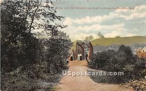 Bridge over Neversink River Neversink NY 1909