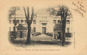 Vietnam Saigon Indochine Entree du Palais du Gouvernement local 03.77
