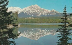 Canada Pyramid Mountain Jasper National Park Alberta
