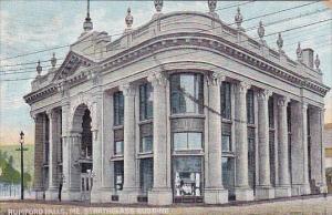 Rumford Falls Strathglass Building Portland Maine 1912