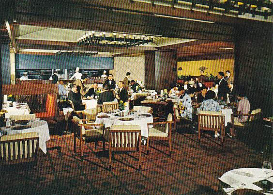 Japan Tokyo Hilton Hotel Keyaki Grill Restaurant Floor
