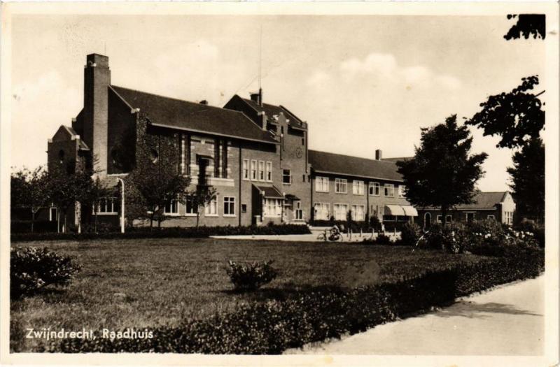 CPA Zwijndrecht- Raadhuis. NETHERLANDS (714231)