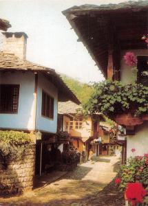 Bulgaria Gabrovo Arch-Ethno Complex Etter The Artizans' Bazaar Street strasse