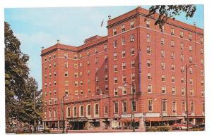 Mark Twain Hotel Elmira NY Postcard Vintage
