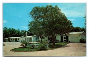 Postcard Wayside Court, St Augustine FL Z5
