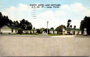 Florida Largo Wurtz Motel and Cottages 1956