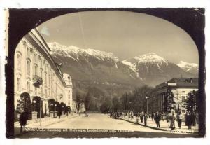 RP;  Innsbruck , Austria, 30-40s ; Kennweg mit Hofburg u. Landestheater geg. ...
