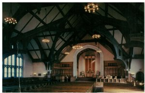 Postcard - Russel Sage Chapel Northfield School For Girls East Northfield, Mass.