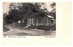 Connecticut   Thompson , Public Library