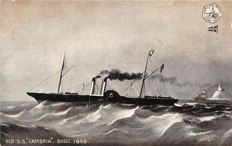 Old S.S. Cambria Built 1848 Ship