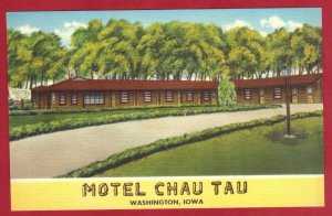MOTEL CHAU TAU, WASHINGTON,IOWA  SEE SCAN  PC61