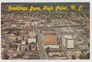 Denver Co Colorado 1964 aerial view postcard