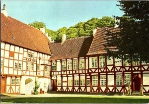 Denmark Aalborg The Castle Vintage Postcard Continental View Card