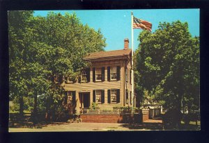 Springfield, Illinois/IL Postcard, Home Of Abraham Lincoln, Eighth & Jackson Sts