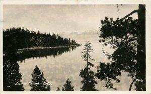 Vintage RPPC Postcard Lake Tahoe CA 8493 posted 1942