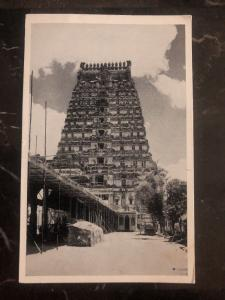 Mint India  RPPC Postcard Ekambareswarar Temple View