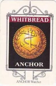 Whitbread Brewers Vintage Trade Card Maritime Inn Signs 1974 No 21 Anchor Wat...