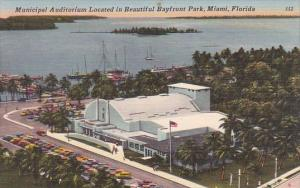 Municipal Auditorium Located In Beautiful Bayfront Park Miami Florida