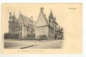 Bourges , France, 1898-1905,  Hotel Jacques-Coeur.-Palais de Justice