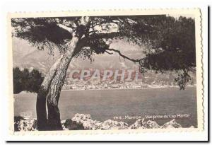 Menton Old Postcard View from Cap Martin