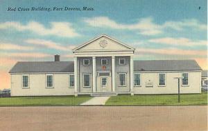 Linen of Red Cross Building Fort Devans Massachusetts MA