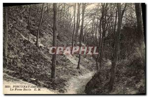 Old Postcard Fontenay aux Rose La Fosse Bazin