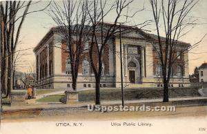 Utica Public Library Utica NY Unused