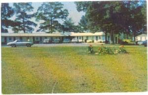 Oak Terrace Motel 5 miles south of Salisbury Maryland, MD, Chrome