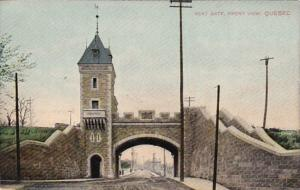Canada Quebec Kent Gate Front View