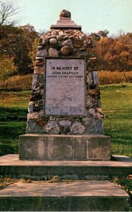 Ohio Caldwell Monument In Meory Of John Chapman Famous Johnny Appleseed