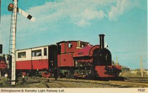 Sittingbourne & Kemsley Railway 1974 Train Postcard