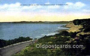Oregon Coast Highway, Oregon Post Card ;      :             Oregon Coast High...