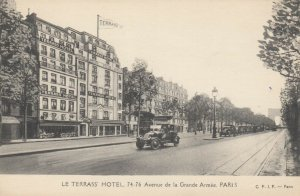 PARIS, France, 1900-10s; Le Terrass Hotel
