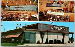 Crystal Lake, Illinois Postcard THE BREAKERS Chinese Restaurant c1970s Unused